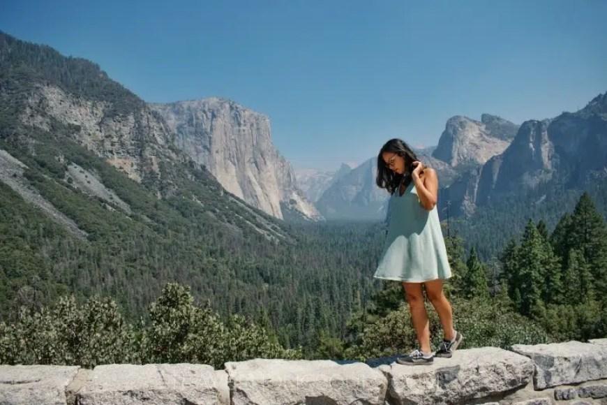 vista tunnel parco Yosemite
