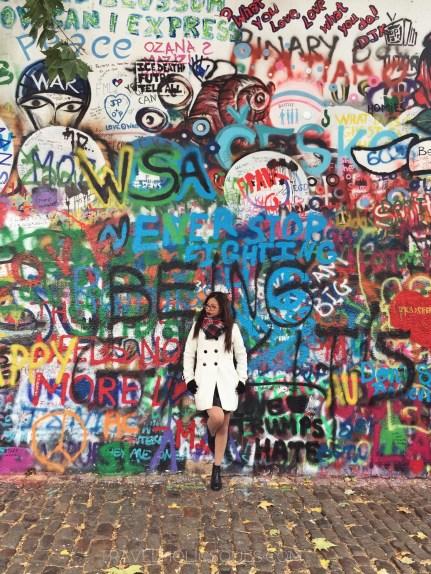 Cosa vedere a Praga muro dei Beatles