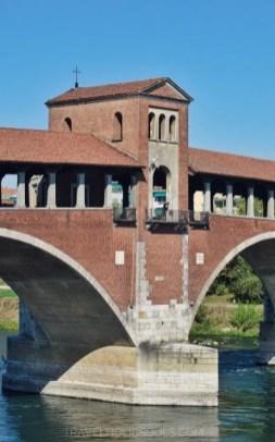 ponte coperto visitare pavia