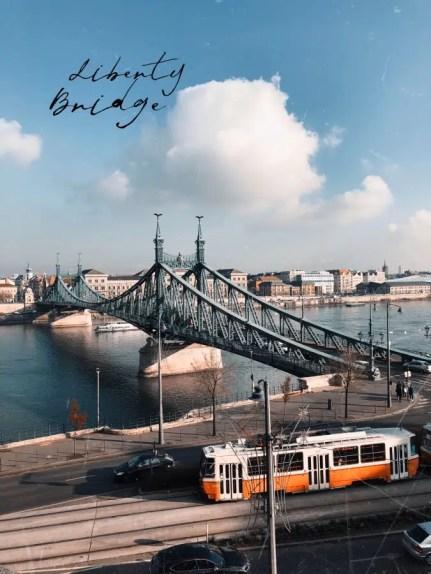 Cosa vedere a Budapest: il Ponte della Libertà
