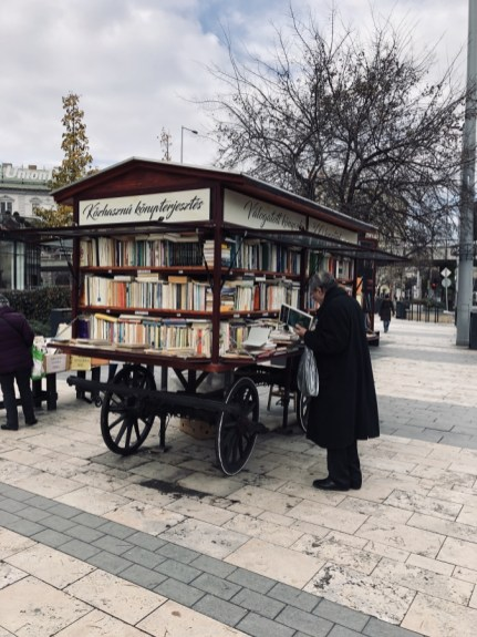 Scene di vita a Budapest
