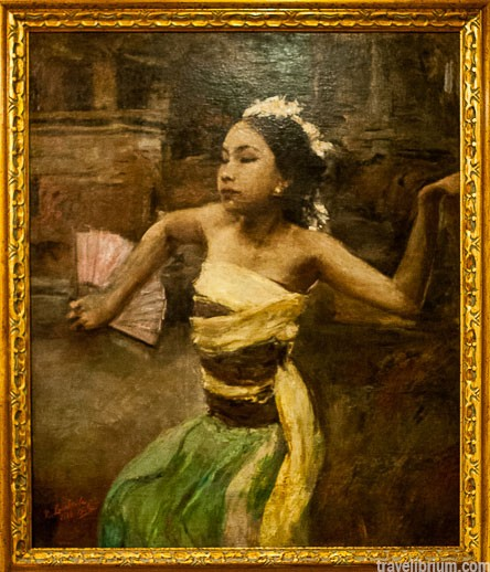"Romualdo Locatelli ""Bali Dancer"", 1939 (Ромуальдо Локателли, ""Танцовщица Легонг"")"