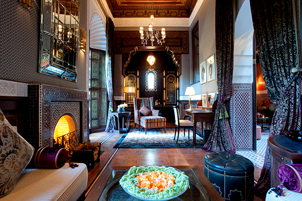 marrakesh morocco royal mansour riad suite