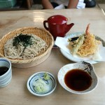 Tempura Soba, Japanese traditional food