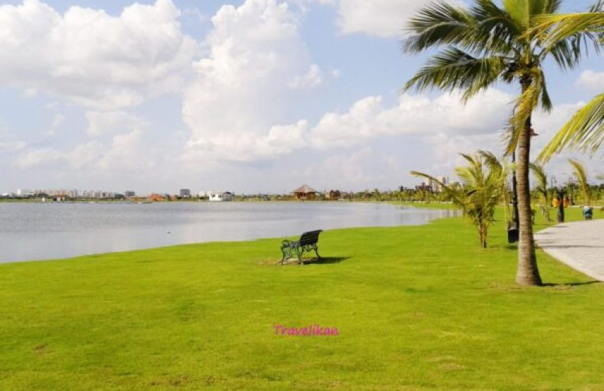 eco park - travelling places in kolkata