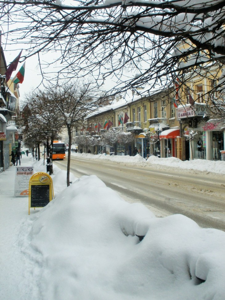 Surviving a Bulgarian winter