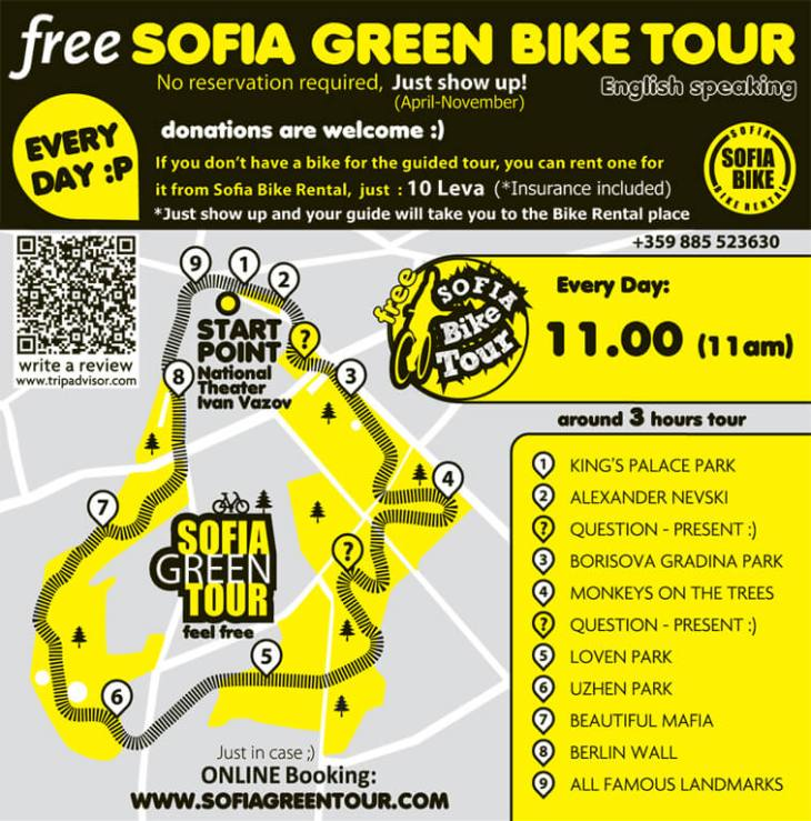 Sofia Green Tour