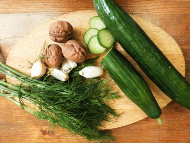 Bulgarian food tarator