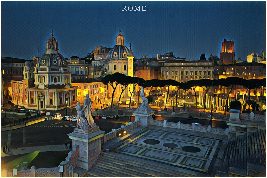 Vilnius Rome Holidays