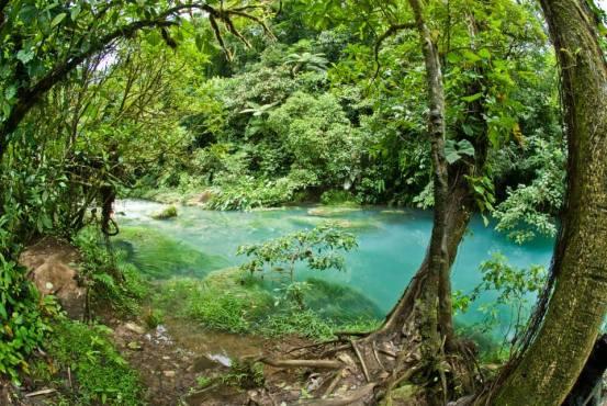 Laguna Azul costa rica