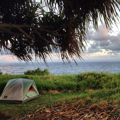Camping on Maui