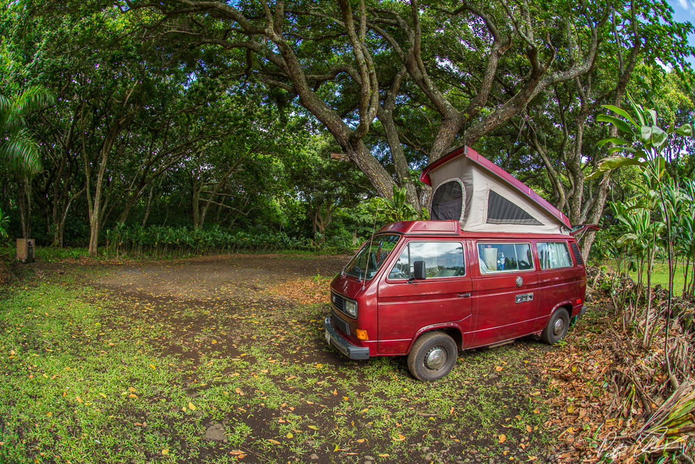 Maui VW Camping: Day 2
