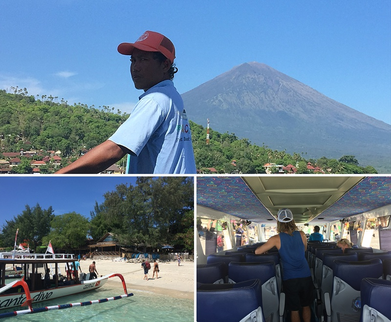 best fast boats bali to gili air
