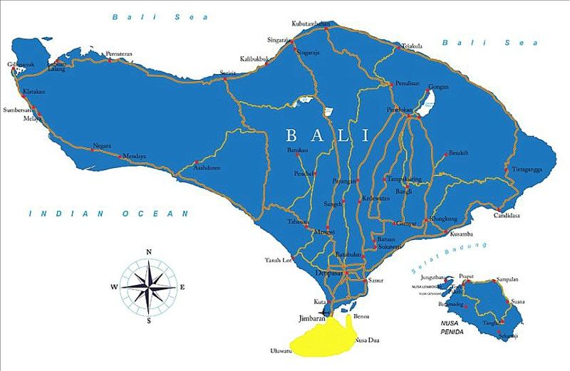 where to live in bukit peninsula bali