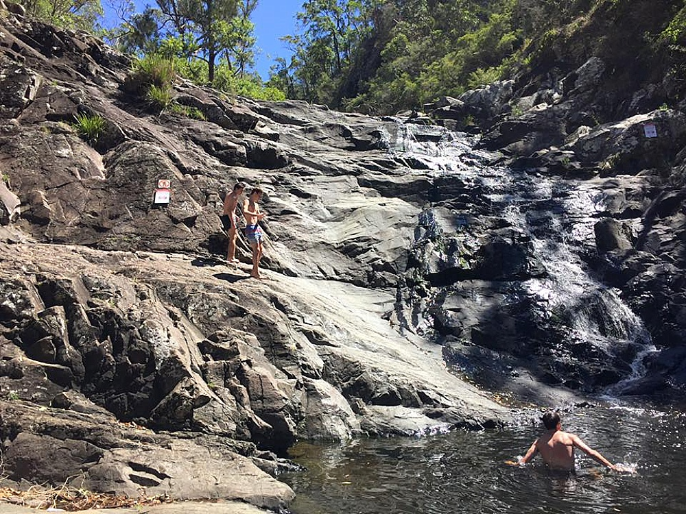 swimming gold coast hinterland