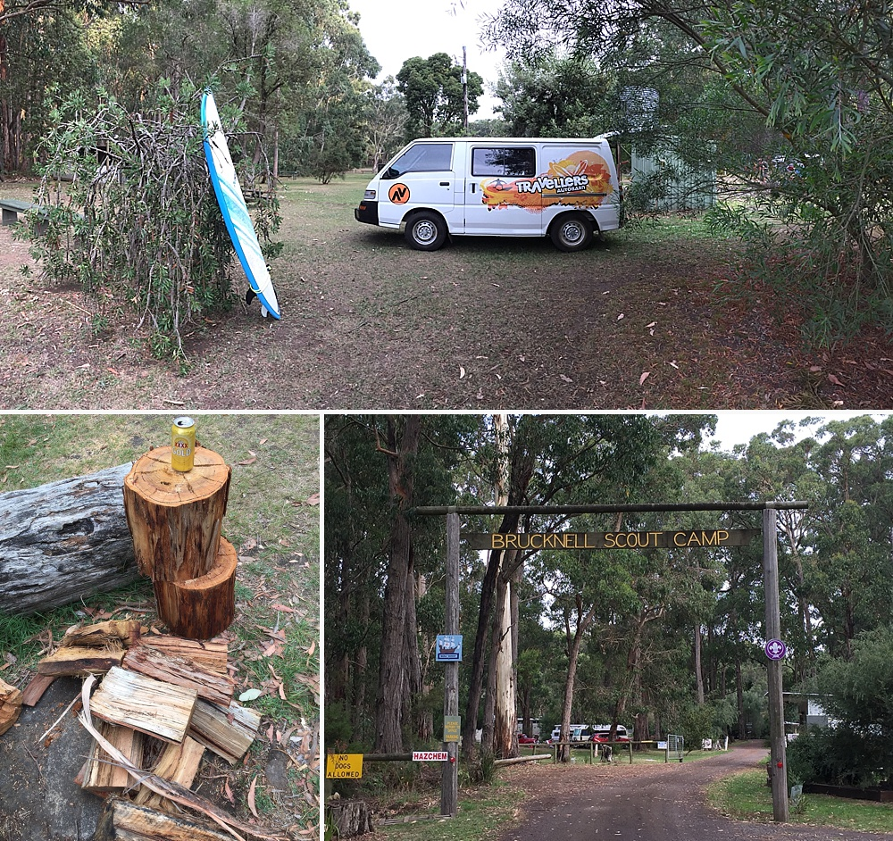 best places to camp great ocean road