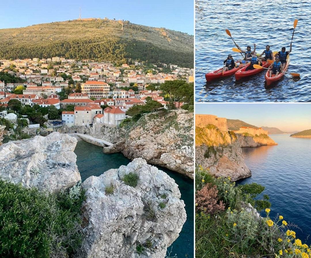 kayaking dubrovnik croatia