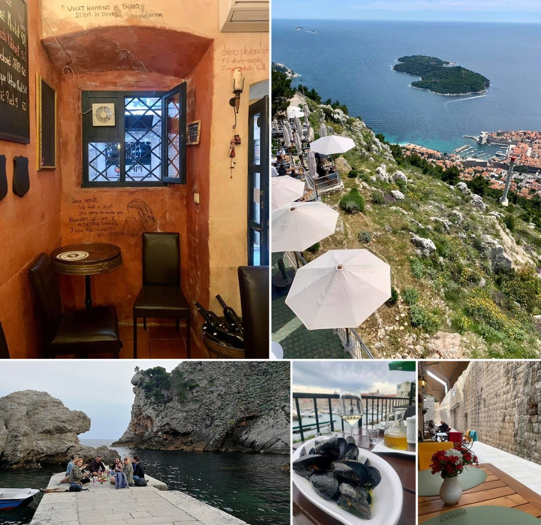 where to eat and drink in dubrovnik croatia