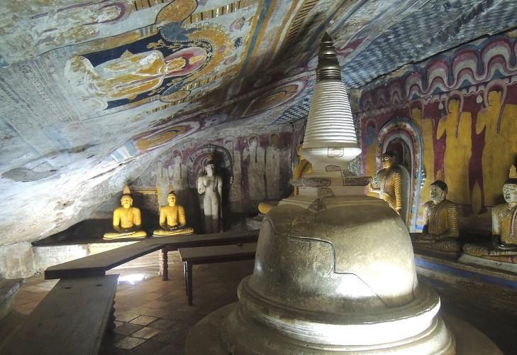 Cultural Triangle Dambulla Cave Temple