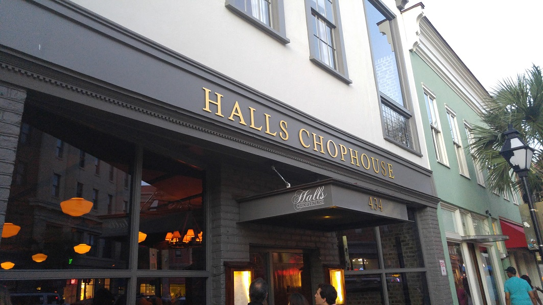 Charleston Gem: Halls Chophouse