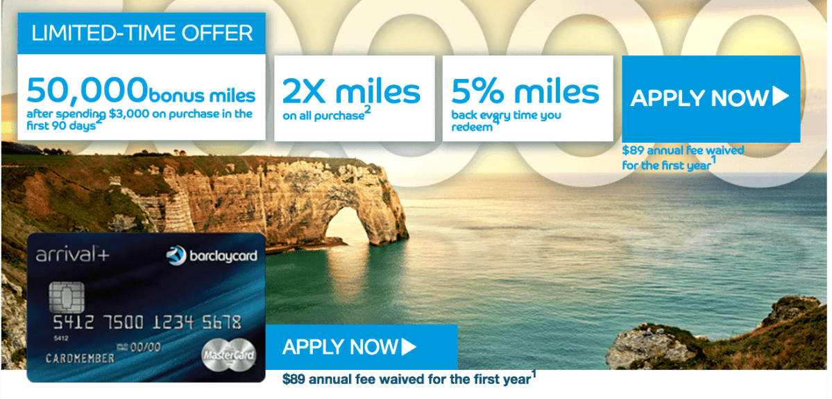 Increased Signup on @Barclaycard Arrival+