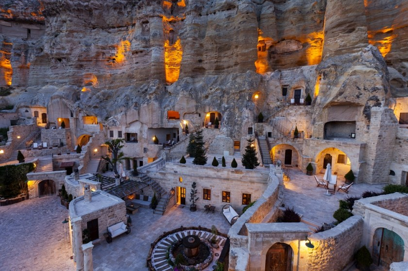 From the Yunak Evleri Cave Hotel Website