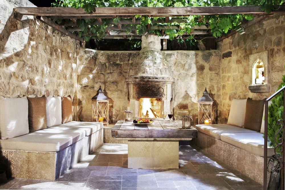 The Yunak Evleri Cave Hotel in Turkey