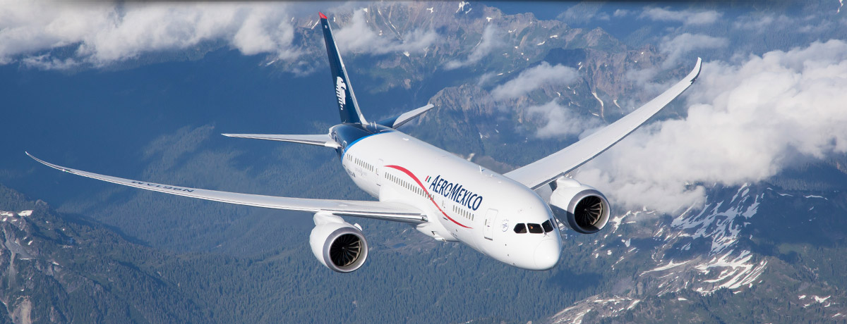 Aeromexico 787-800; excitement! #Dreamliner @Boeing