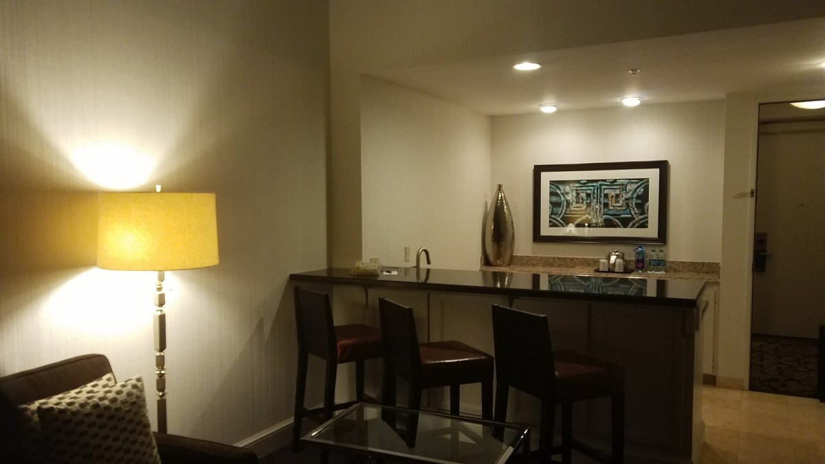 Sheraton Mission Valley – 14th Floor Suite