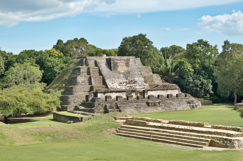 3-escape to belize - mayan ruins