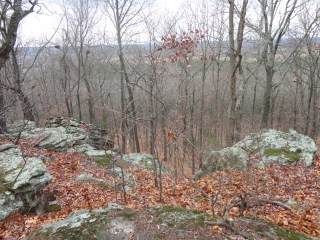 Millstone Bluff, following the footsteps of the Woodland and Mississippian Indians