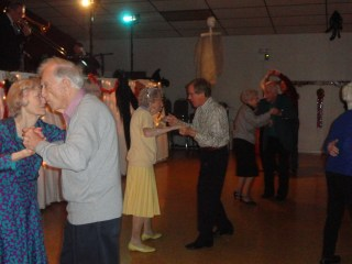 Dancing the night away, VFW style! - Picture by Rose Hammitt