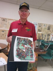 Prairie tractors and a book made out of love wow visitors at the National Farm Toy Show
