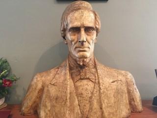 The Jefferson Davis capture sight