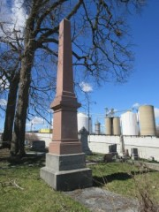 George Brown history in Galesburg