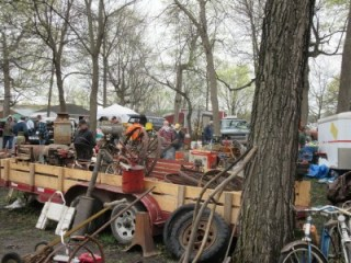 The Le Seuer Swap Meet, a Bounty of Goods!