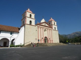 "Santa Barbara Mission, the ""Queen of the Missions"""