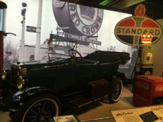 The Route 66 exhibit opened in June of 2016.