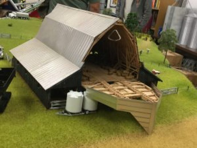 This beautiful barn was part of a farm layout