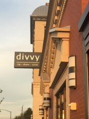 Divvy, a great dining place to Divvy it Up!