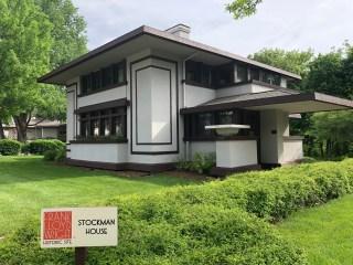 Designed by Frank Lloyd Wright