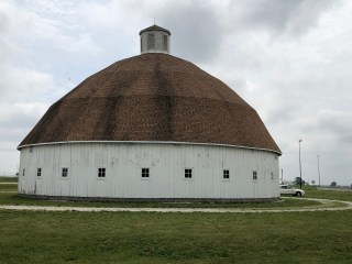Stumbling on the Lewis Round Barn Museum