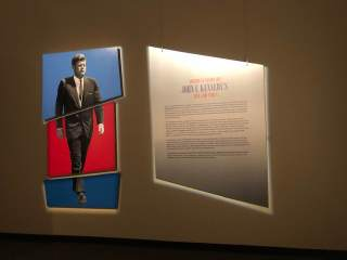 JFK at the Abraham Lincoln Museum