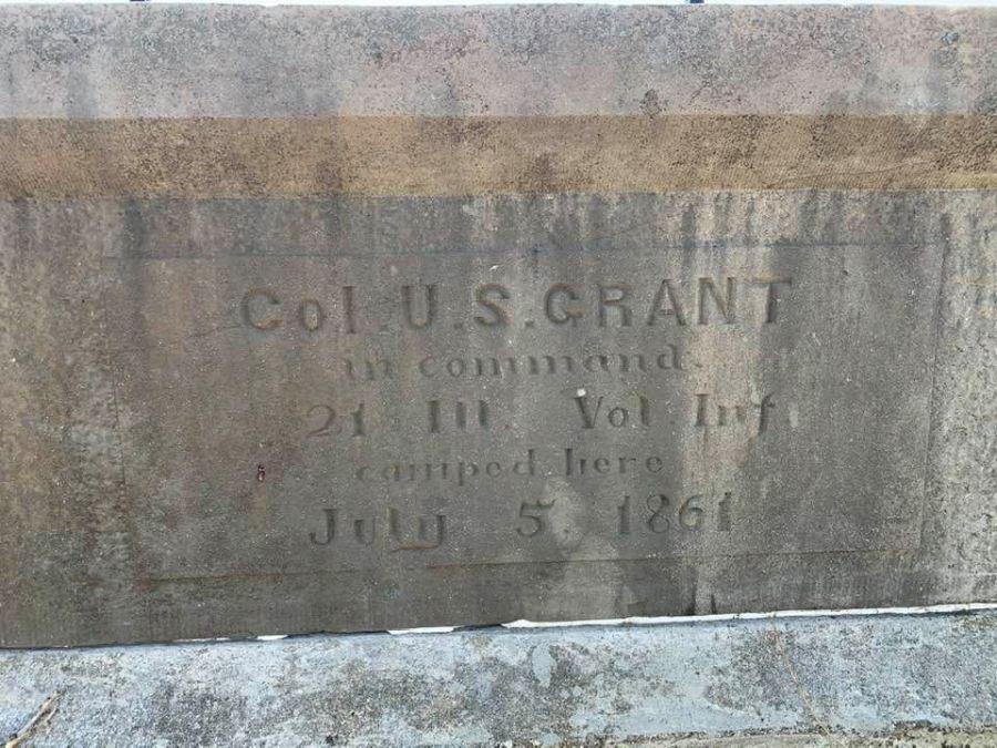 Grant's campsite