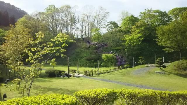 花巻温泉「愛隣館」のお庭