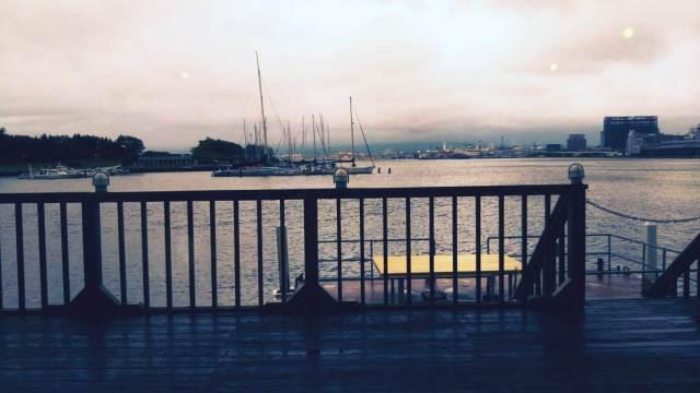 海を見ながらディナーができる、函館のレストランしろくま