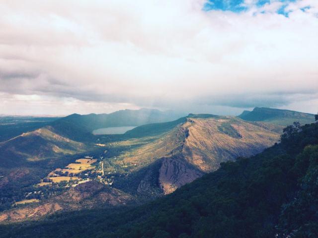 グランピアンズ国立公園「ボロカ展望台」