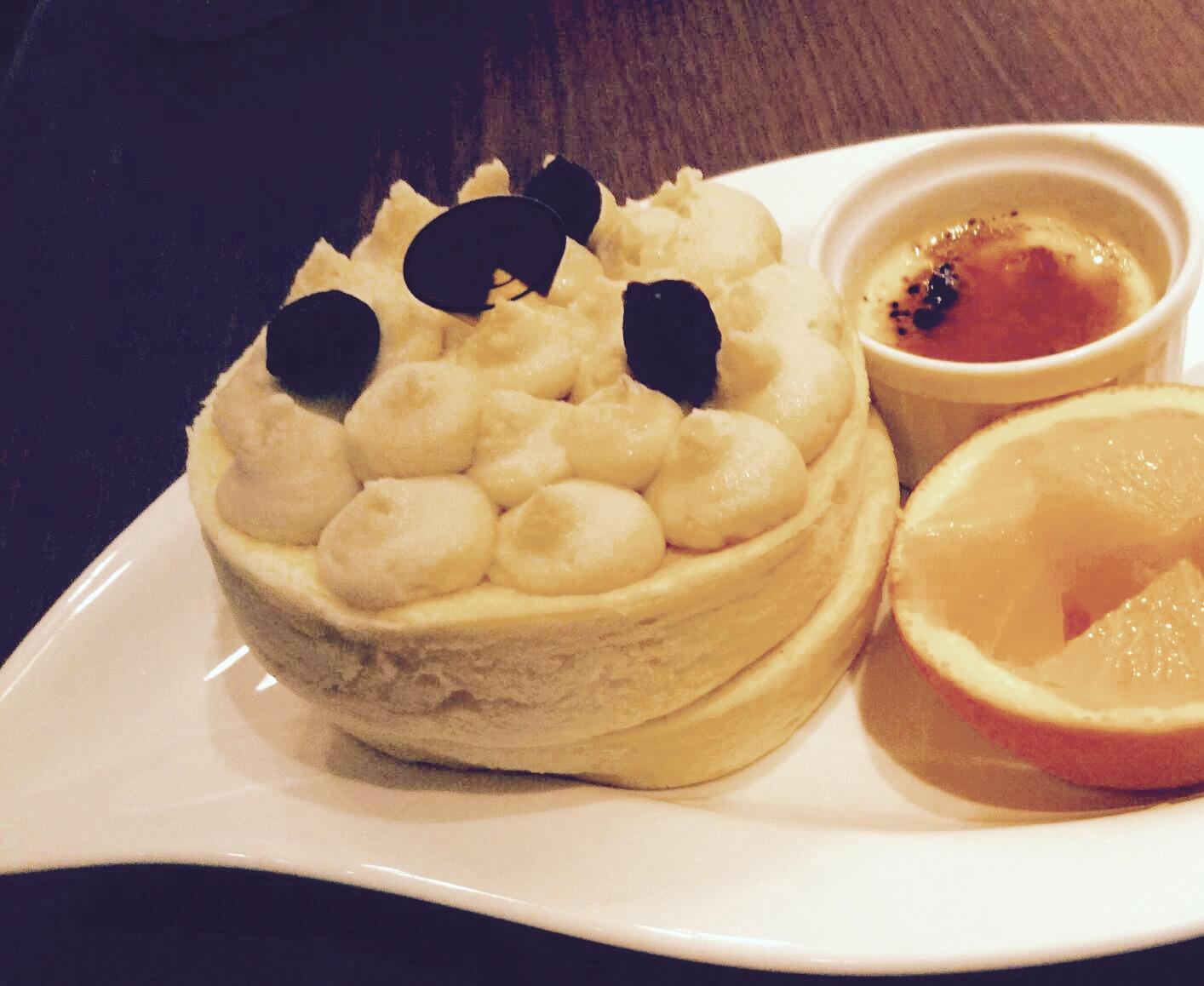札幌・スイーツスマイルのふわふわパンケーキ!