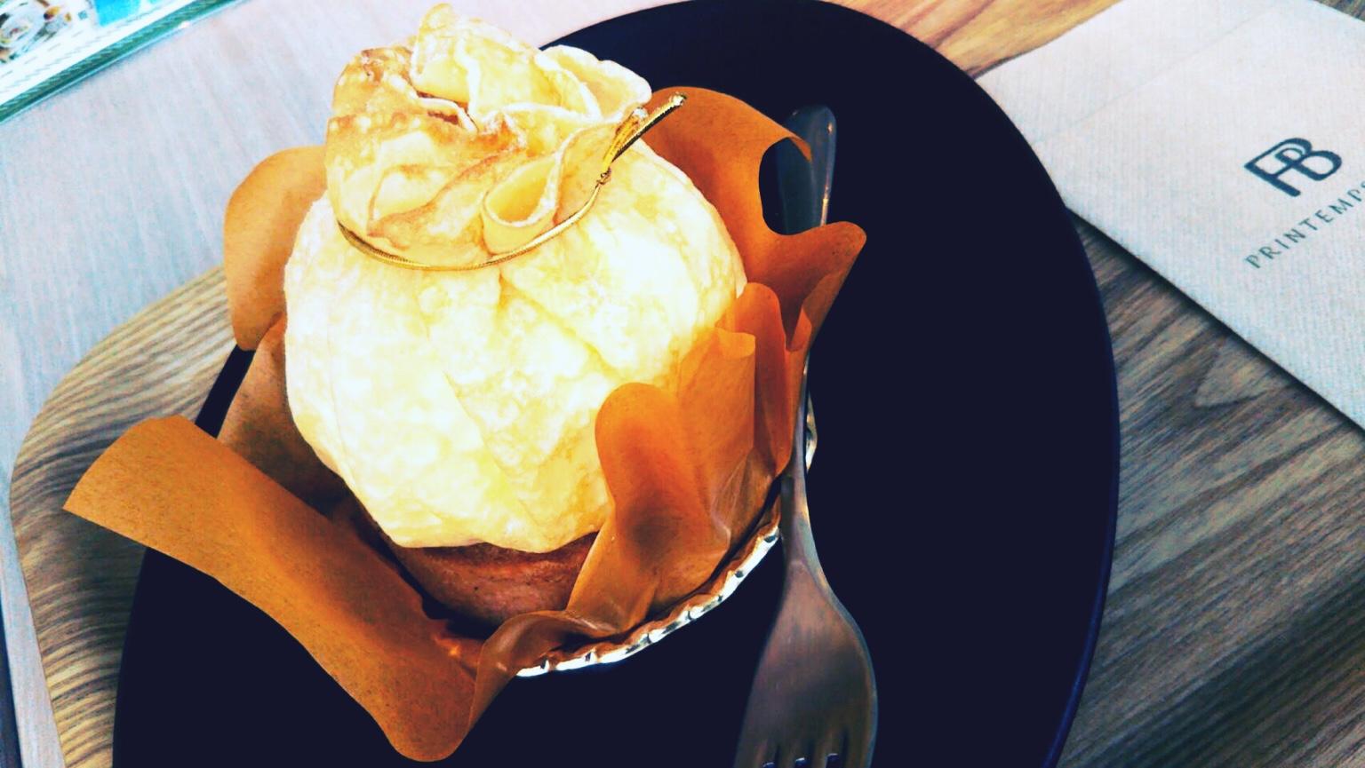 プランタンブランでカフェランチ!ケーキも可愛いくておすすめ