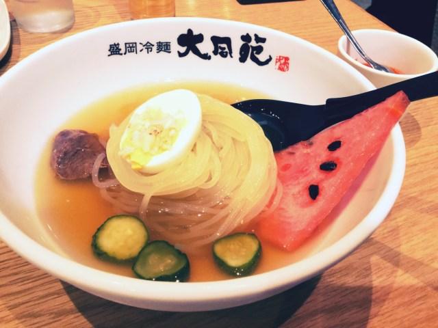 盛岡冷麺「大同苑」の冷麺